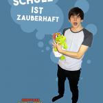 Kinderplakat: Schule ist zauberhaft | Maximilian Stenzel - Zauberkünstler